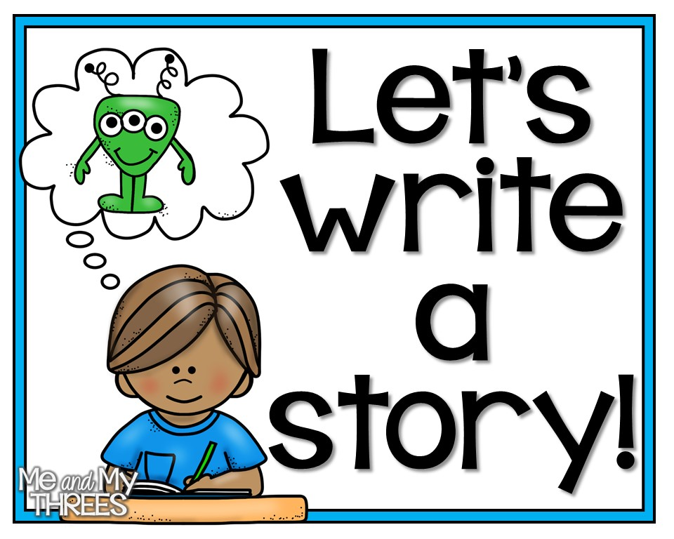 Write A Story Clipart.