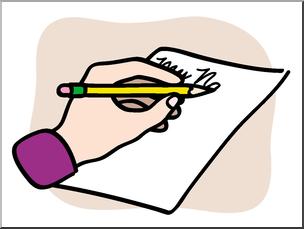 Clip Art: Basic Words: Write Color Unlabeled I abcteach.com.