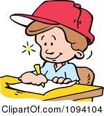 Write Down Clipart.