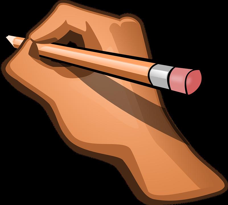 Hand Pencil Pen.