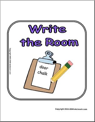 Sign: Write the Room.