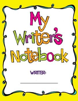 The Writer's Notebook.
