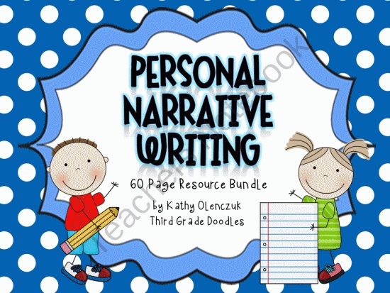 Personal Narrative Writing Resources & Posters.