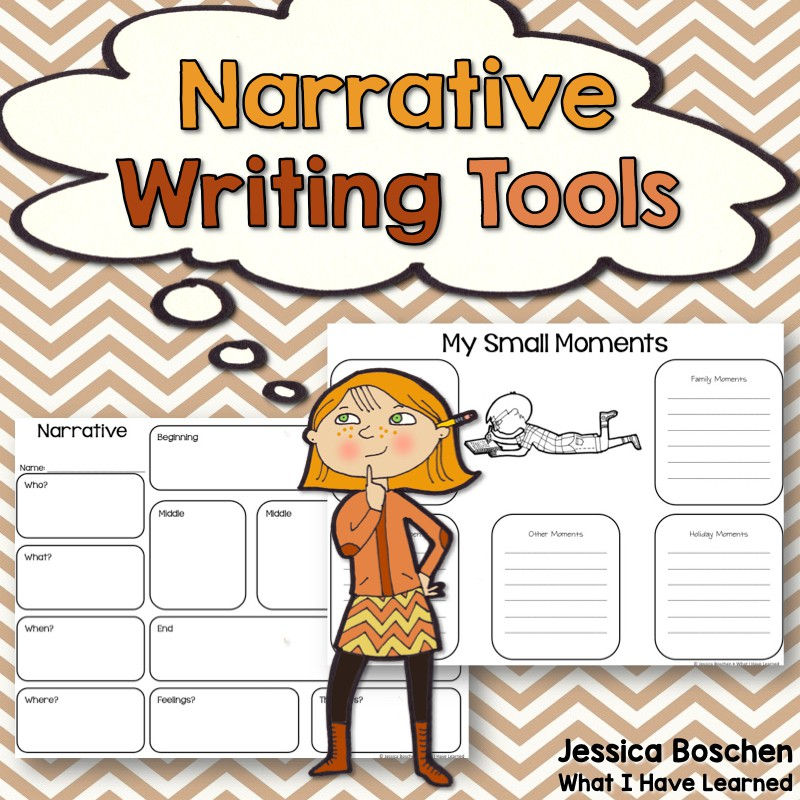 Narrative Writing Tools {Grades 1.