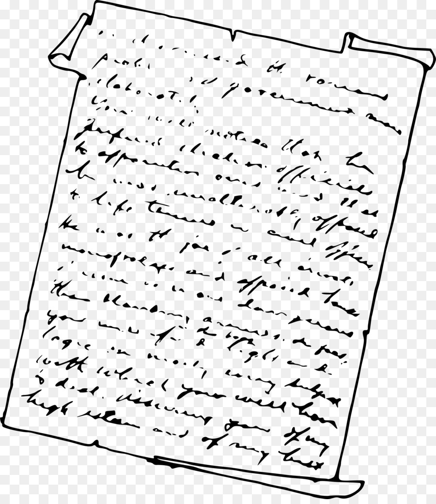Png Of A Written Letter & Free Of A Written Letter.png.