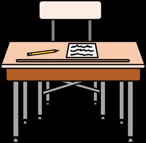 412 student desk clipart free.