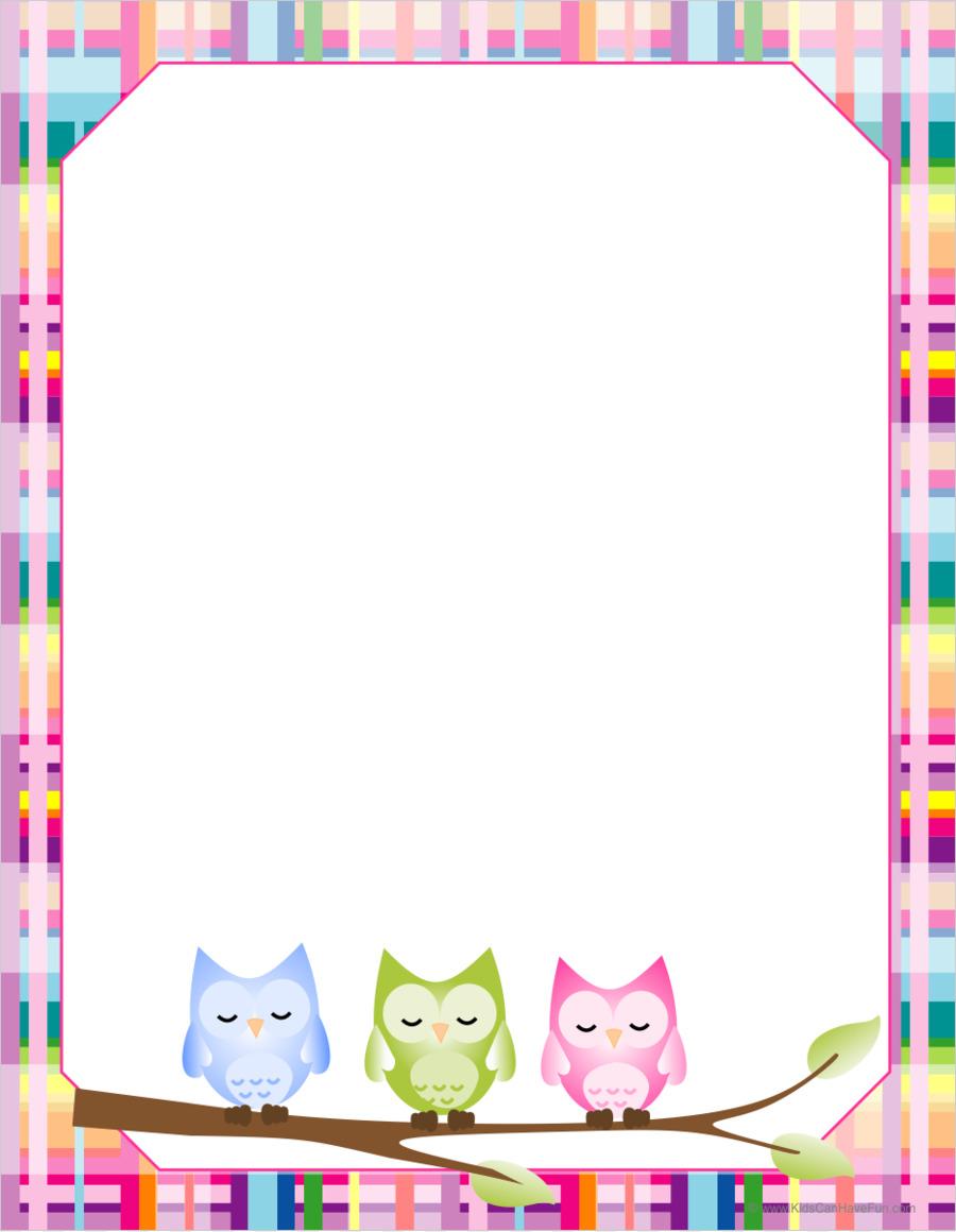 Pink Background Frame.