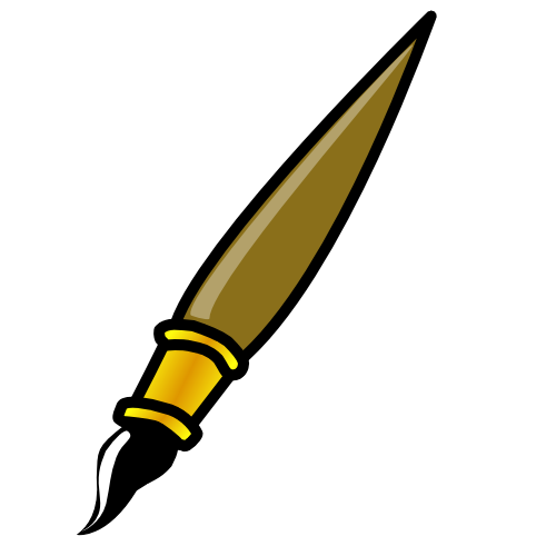 Paint Brush Clip Art Png.