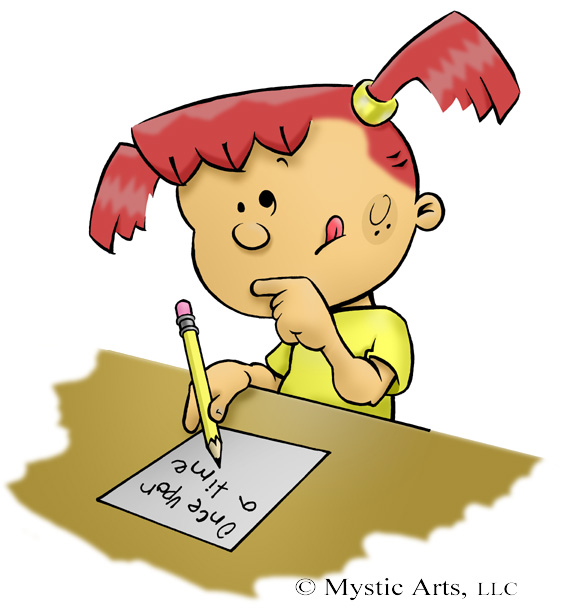Free Writing Cartoon, Download Free Clip Art, Free Clip Art.