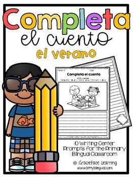 Summer Spanish Writing.