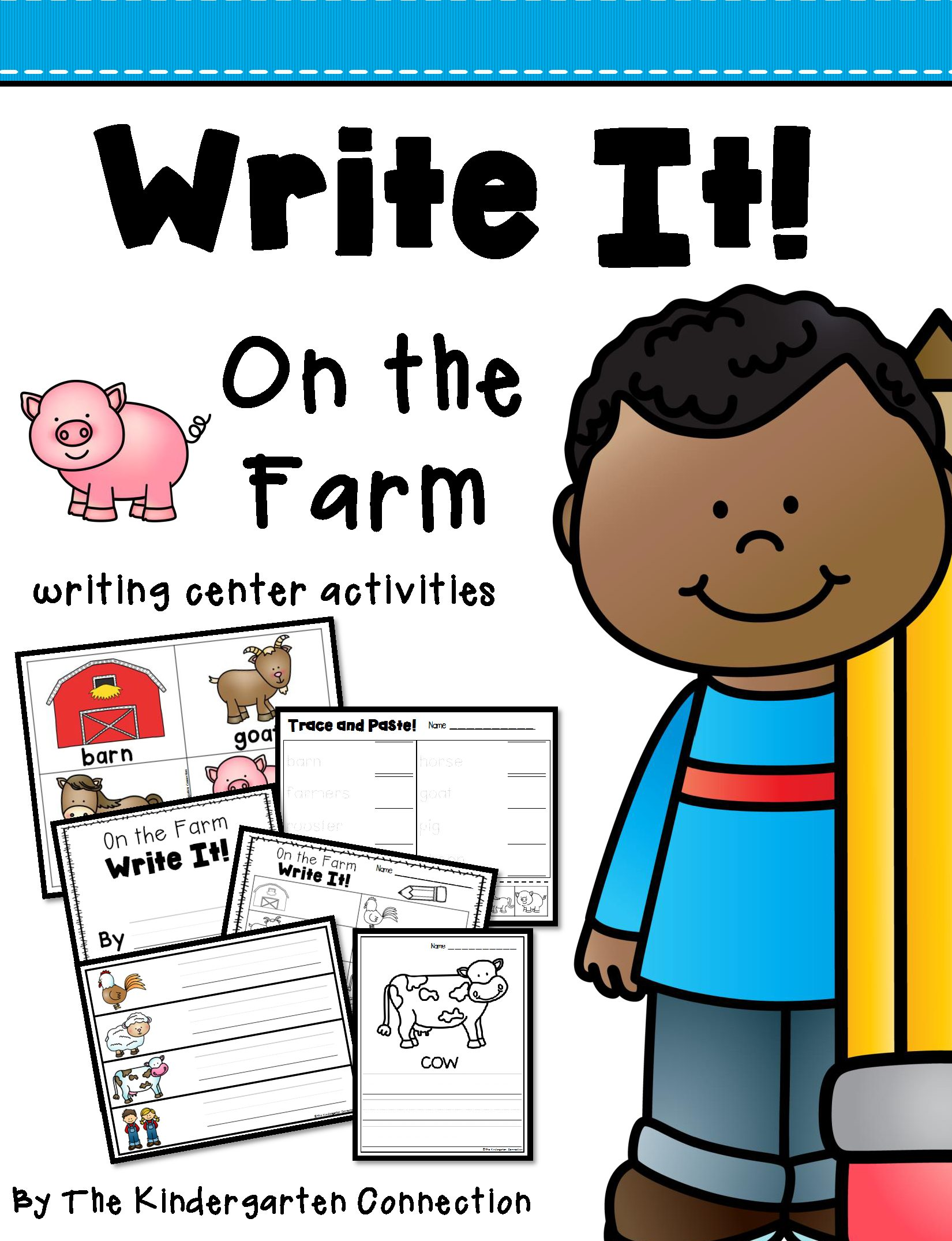 Write It! On the Farm Writing Center Activities.