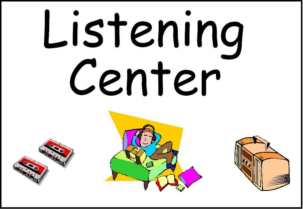 Free Printable Center Signs.