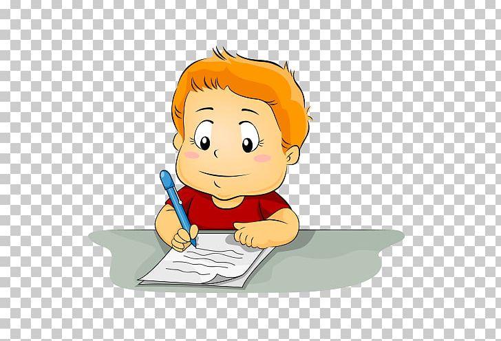 Writing Child PNG, Clipart, Art, Boy, Cartoon, Cheek, Child.