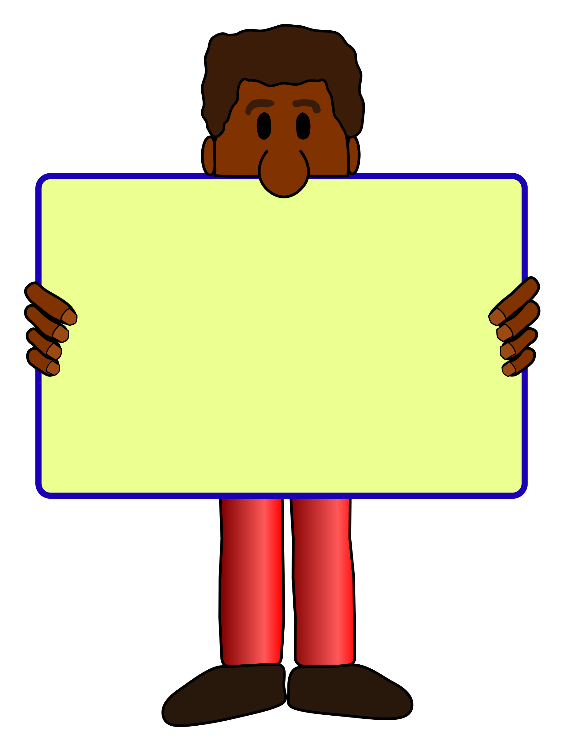 Clipart writing african american, Clipart writing african.