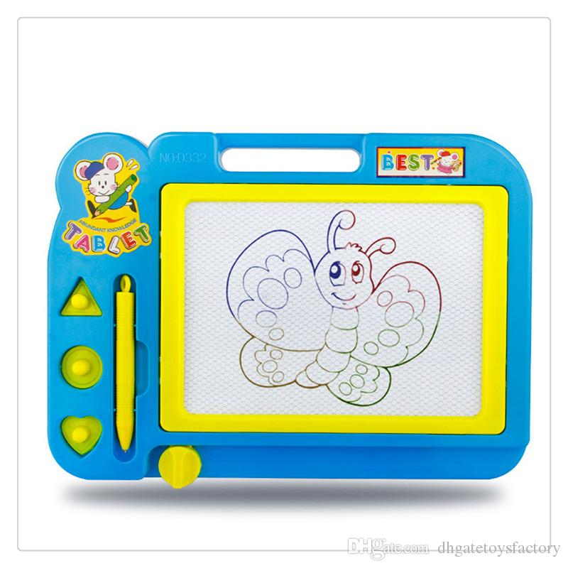 Kids Educational Toy Sketch Pad Magnetic Drawing Writing Board For Boys And  Girls Random Color Education Toys Toys For Intelligent Kids Intelligent.