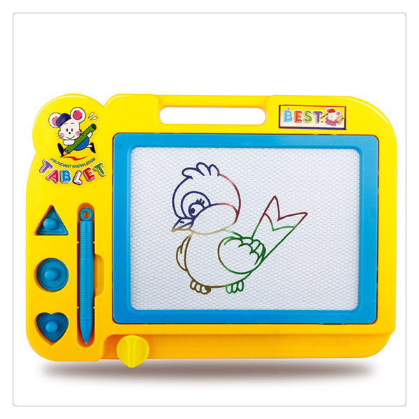 Wholesale High Quality Children Educational Toy Sketch Pad Magnetic Drawing  Writing Board For Boys And Girls Random Color Hot Sale Educational Toys.