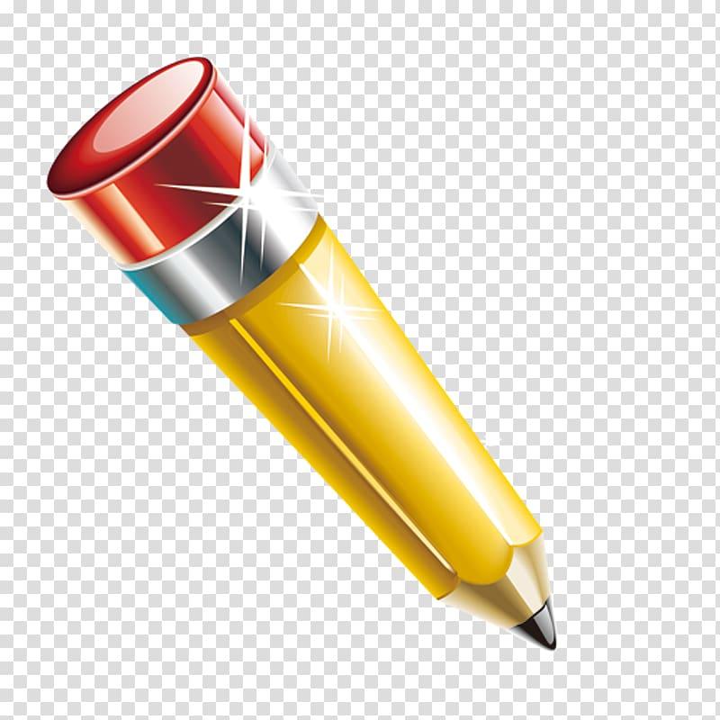 Pencil, Cartoon pencil transparent background PNG clipart.