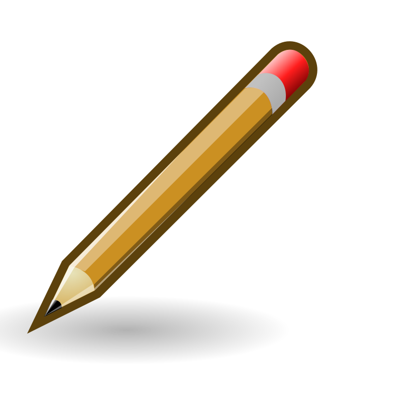 Pencils clipart clear background, Pencils clear background.