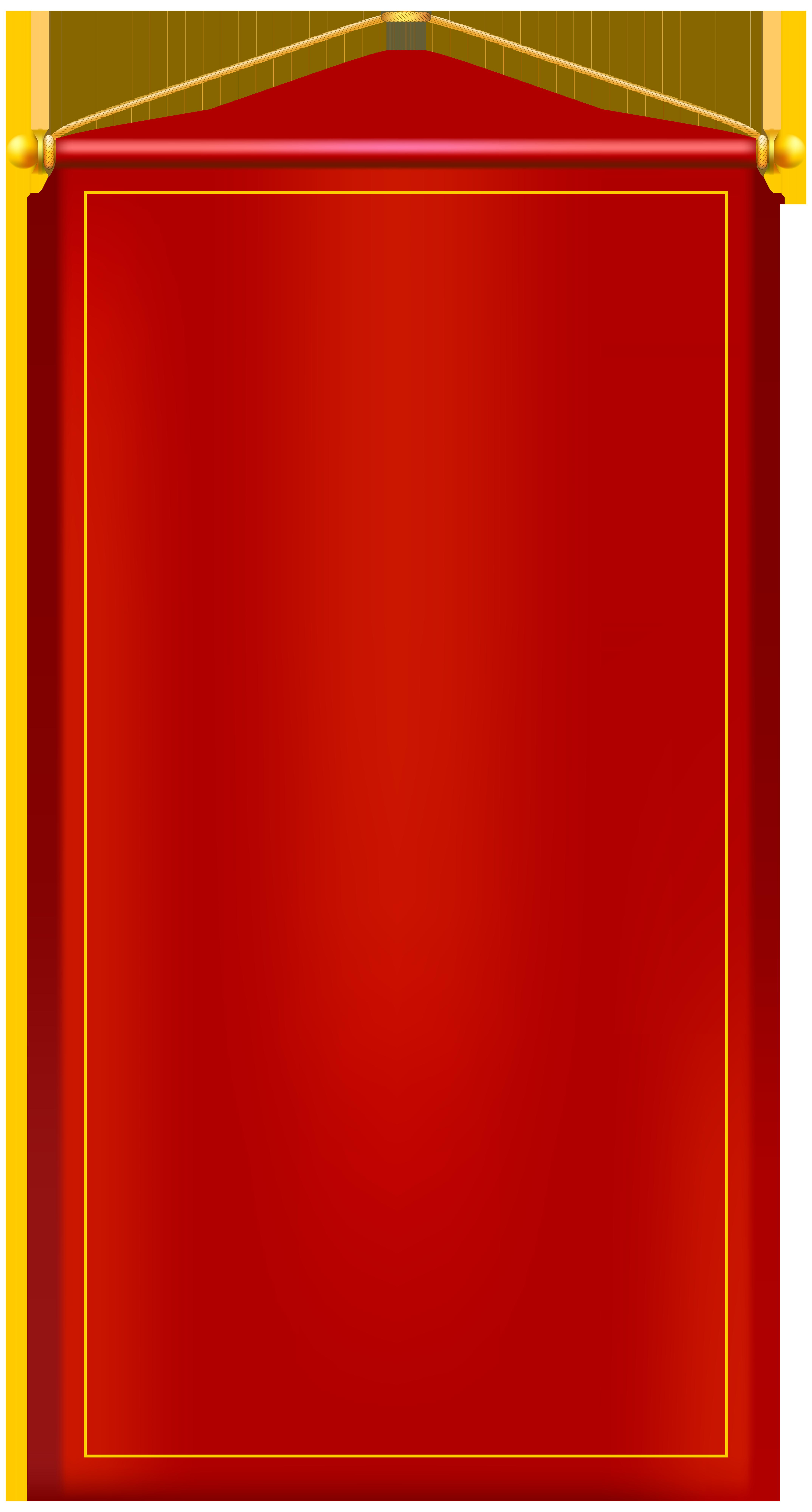 Vertical Banner Clipart.