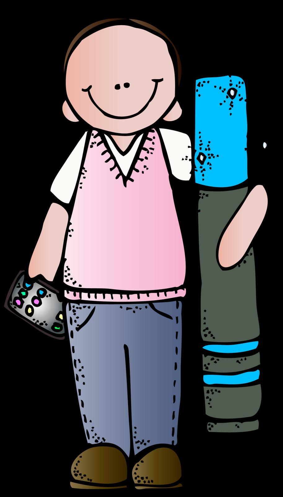 Melonheadz Free Clip Art for School Teachers.
