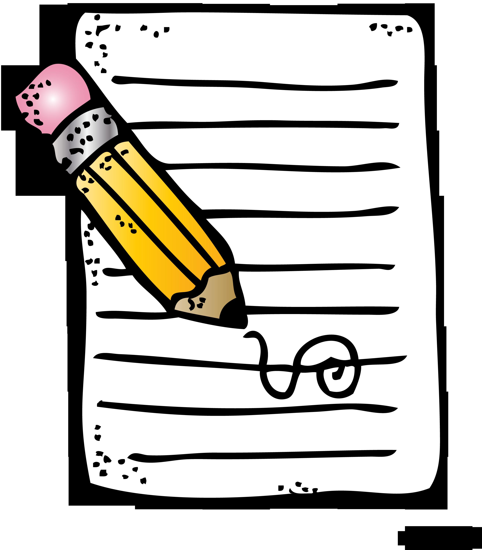 Writing Clipart Melonheadz.
