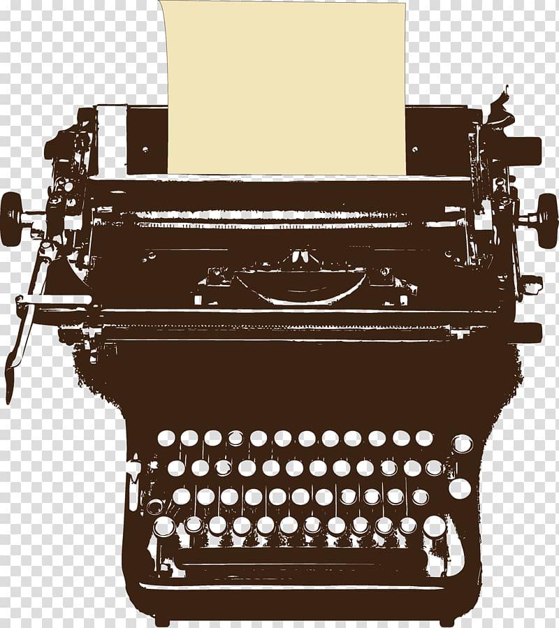 Writing Etsy Typewriter, Typewriter transparent background.