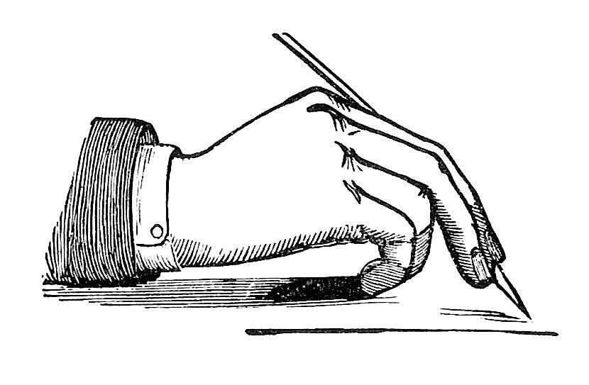 Writing clip art write a book review clipart 3.
