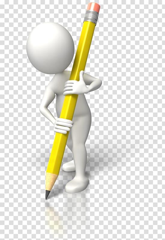 Animated film Stick figure Writing Pencil , pencil.