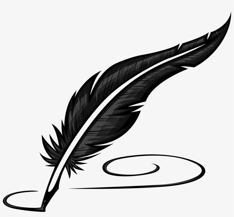 Writing Literature Feather.