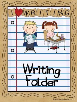 Writing Folder Clipart.