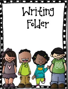 Writing Folder Cover (Free).