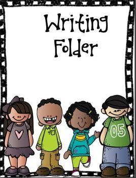 Writing Folder Cover (Free).