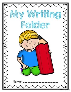Writing Folder Cover by Andrew Greeley.