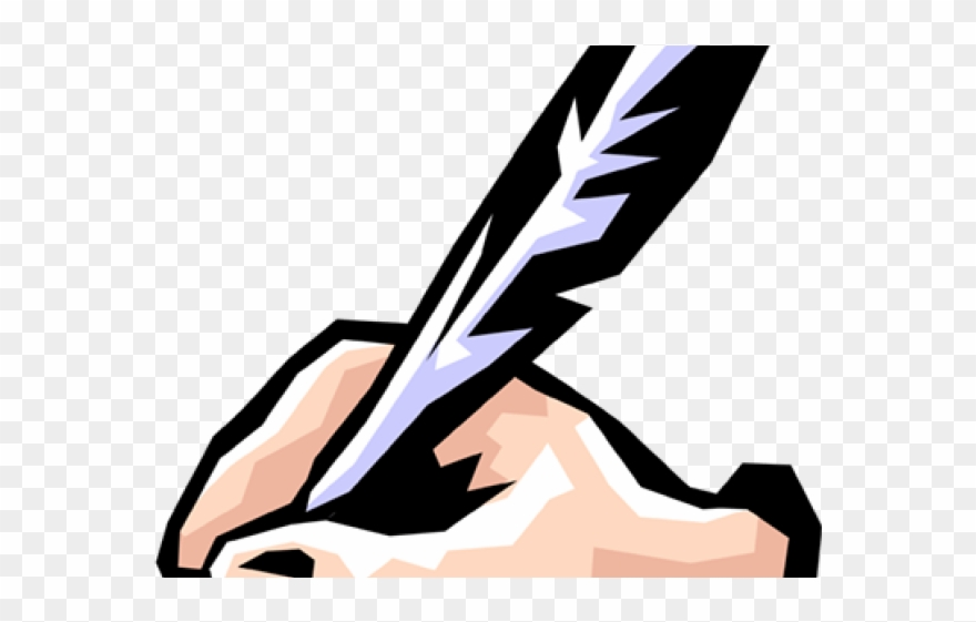 Quill Clipart Hand Writing.