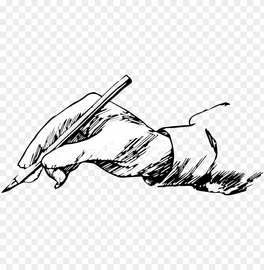 writing hand png download.