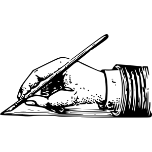 Writing Hand clipart, cliparts of Writing Hand free download.