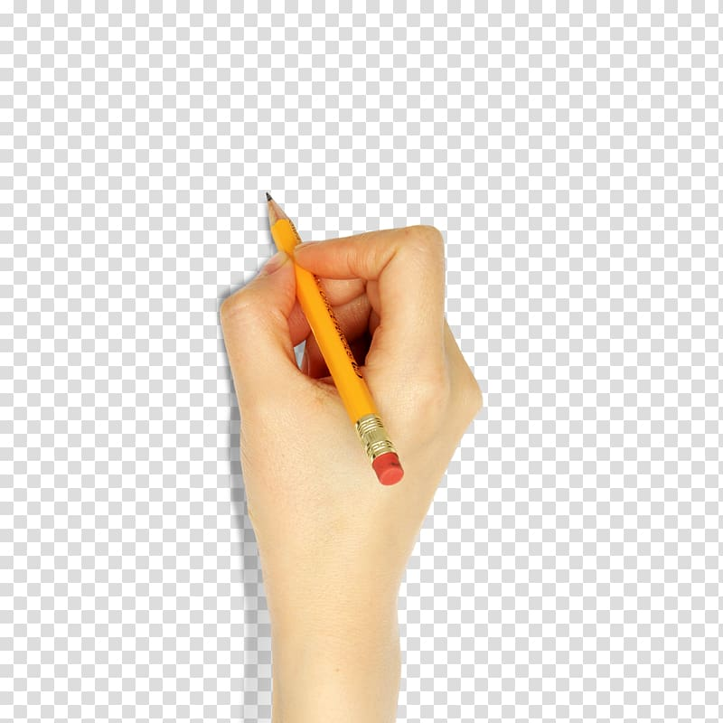 Person holding pencil, Pencil Writing, Hand holding a pencil.