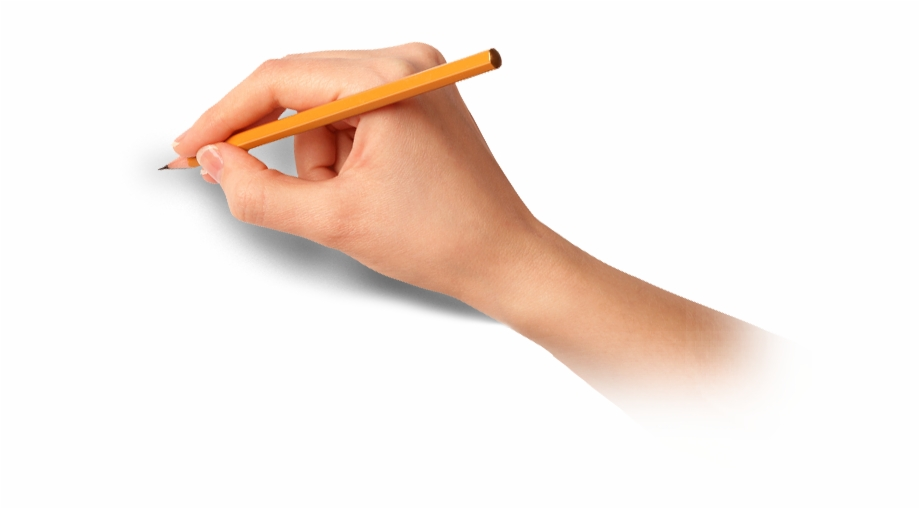 Hand Writing With Pen Png.
