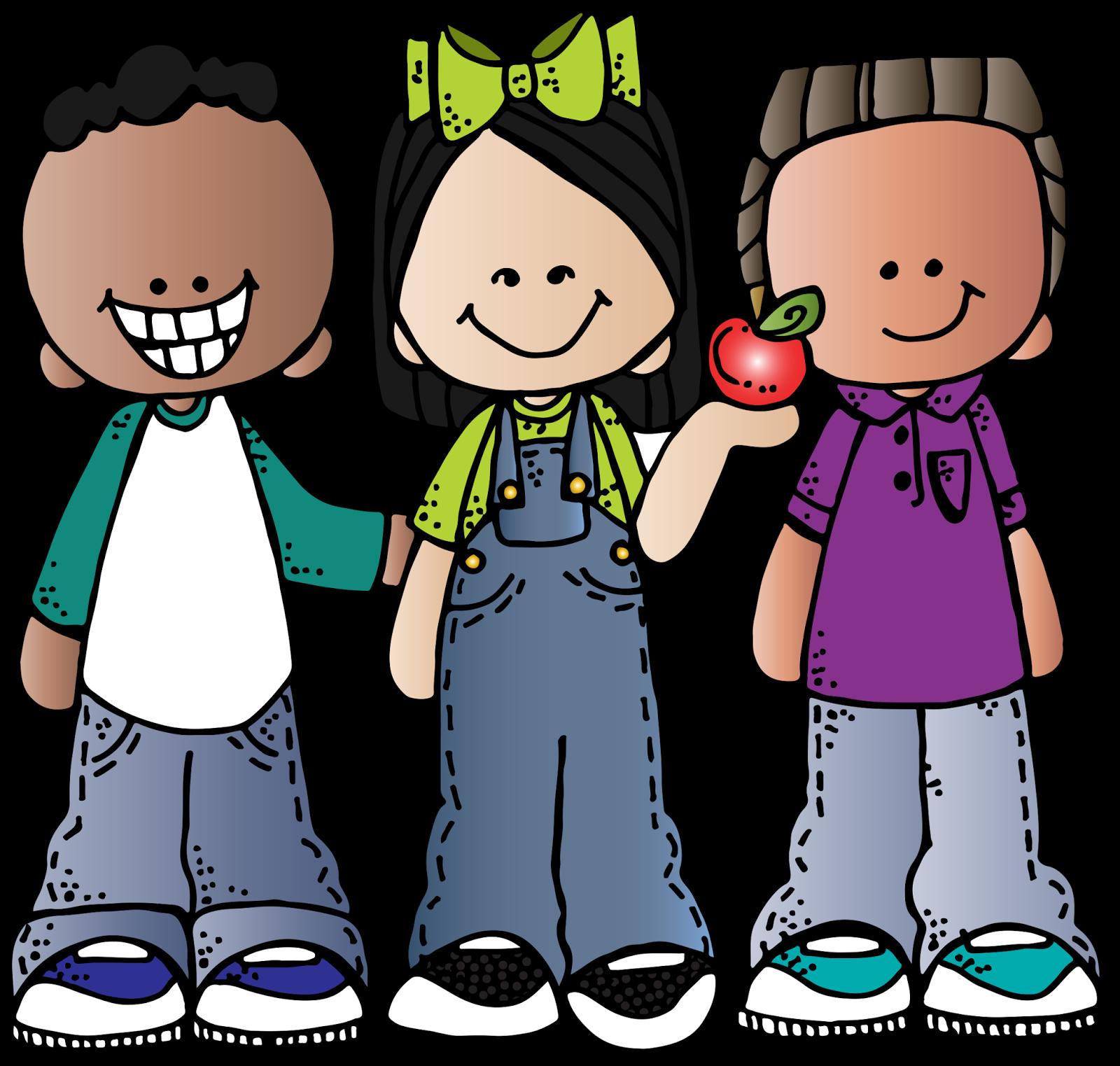 Melonheadz Kids Clipart.