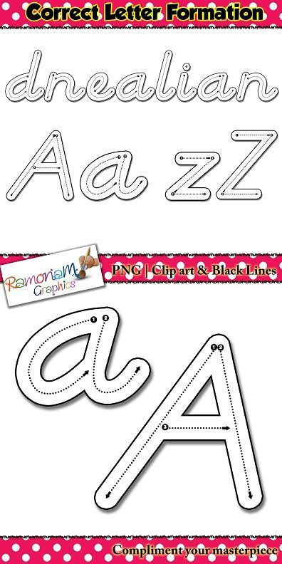 Alphabet Tracing letters: D\'Nealian Style correct letter.