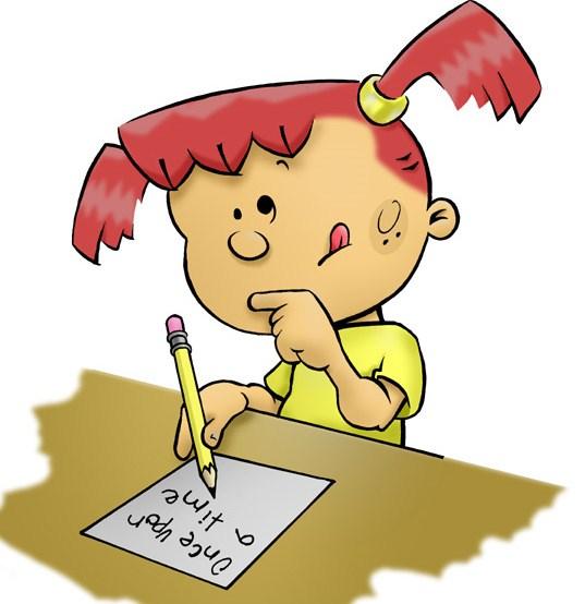 Girl writing letter clipart 2 » Clipart Portal.