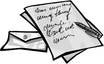 61+ Letter Clipart.