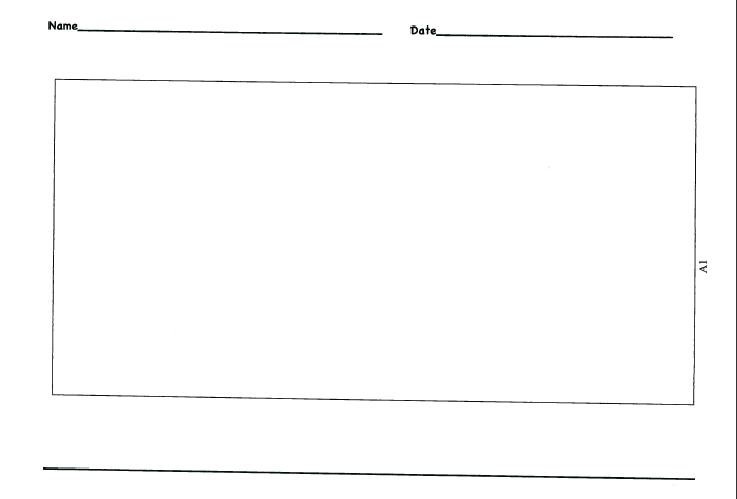 Kindergarten Writing Paper Clipart.