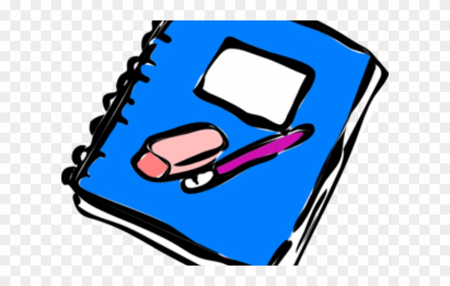 Writing Notebook Clipart.