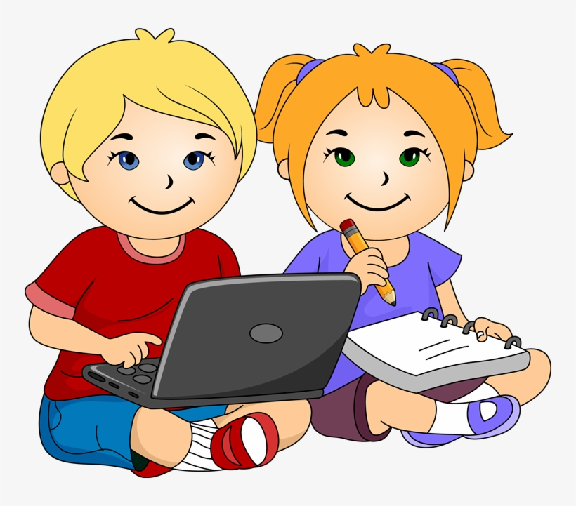 Laptop Clipart For Kids.