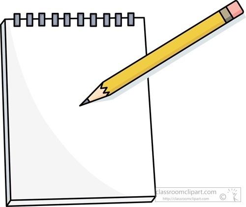 Paper Clipart Pencil.