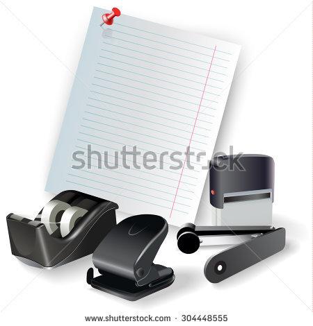 "nahariyani's ""Drawing & office tools"" set on Shutterstock."