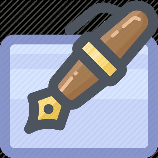 Draw, edit, pen, tools, write, writing icon.