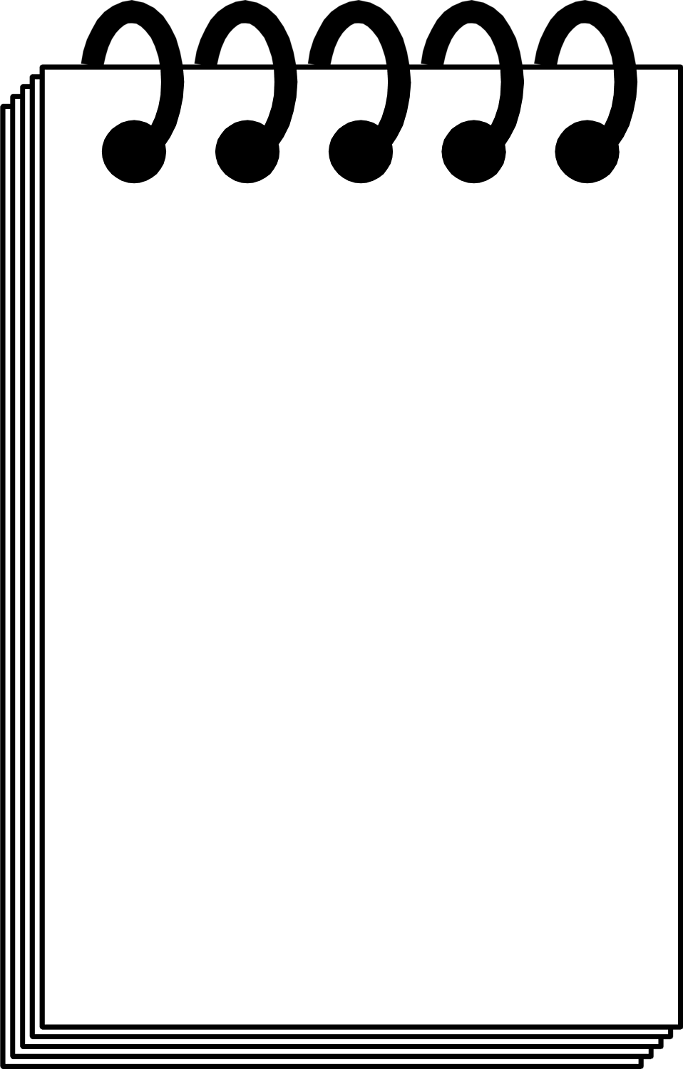 Writing Pad Clipart Png.