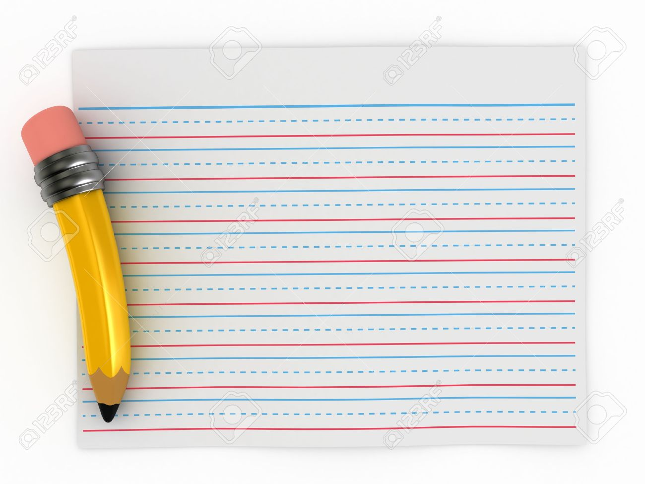 Writing pad clipart #6